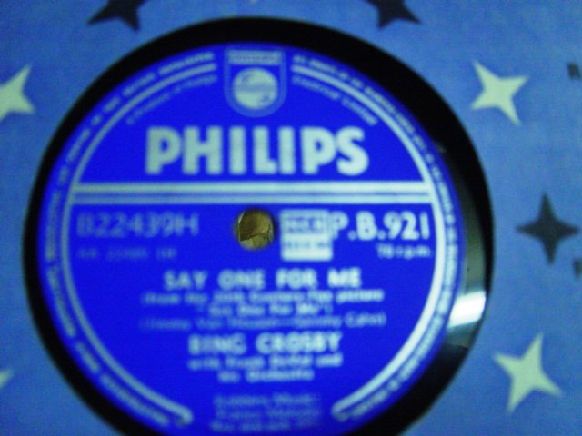 Bing Crosby - Say one for me - Philips PB. 921