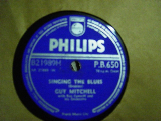 Guy Mitchell - Singing the Blues - Philips PB. 650