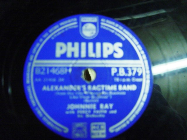Johnnie Ray - Alexanders Ragtime Band - Philips PB 379
