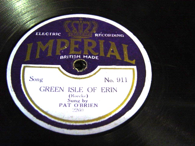 Pat O'Brien - Green Isle of Erin - Imperial 911