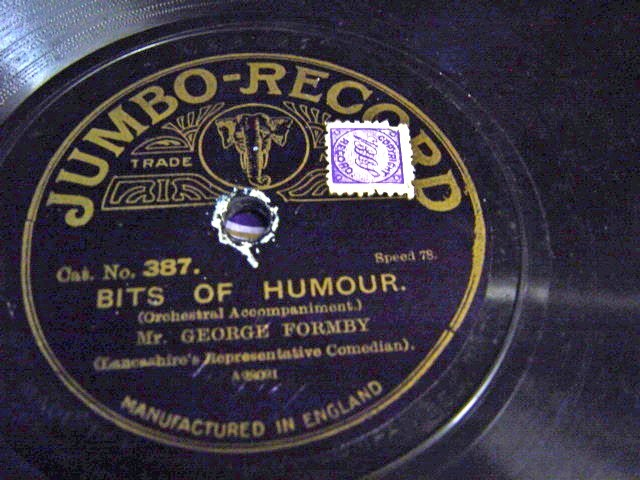 George Formby - Bits of Humour - Jumbo 387