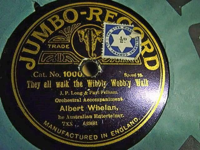 George Formby - The Wriggley Rag - Jumbo 1000