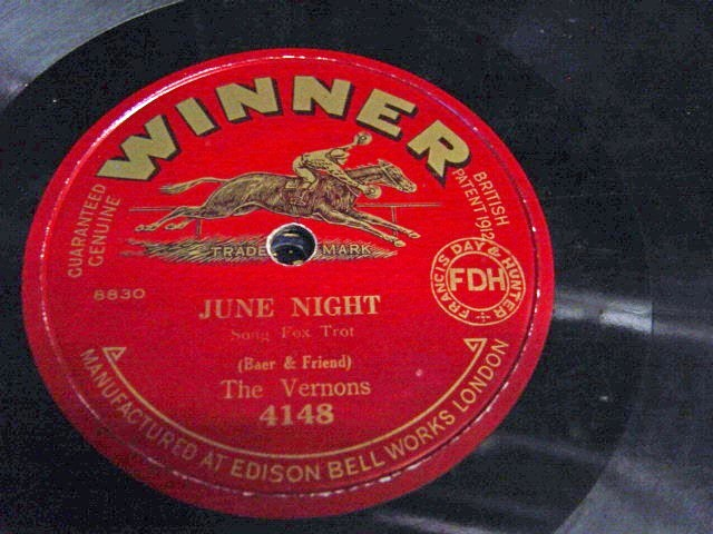 The Vernons - June Night - Winner 4148