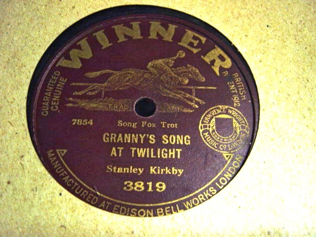Stanley Kirkby - Grannys song at Twilight - Winner 3819