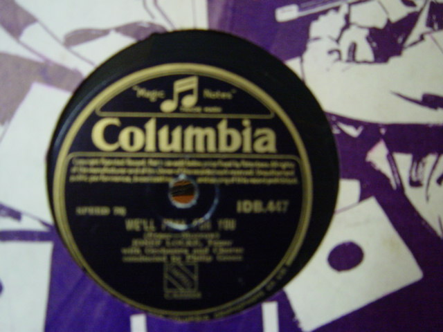 Josef Locke - We'll pray for you - Columbia IDB.447