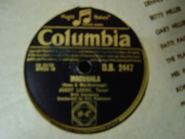 Josef Locke - Galway Bay- Columbia DB. 2447 UK
