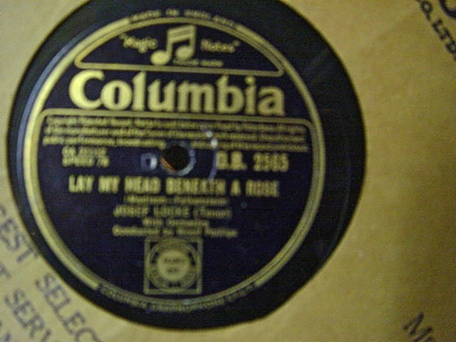 Josef Locke - Lay my head beneath a Rose - Columbia DB.2565