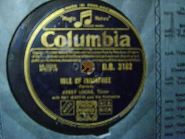 Josef Locke - Isle of Innisfree - Columbia DB 3182