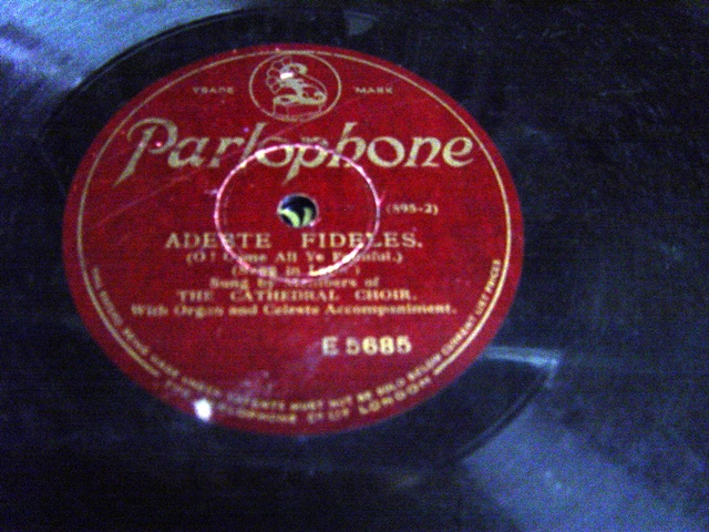 The Cathedral Choir - Adeste Fideles - Parlophone E.5685