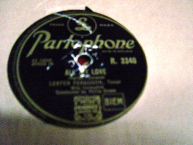 Lester Ferguson - All my love - Parlophone R. 3340