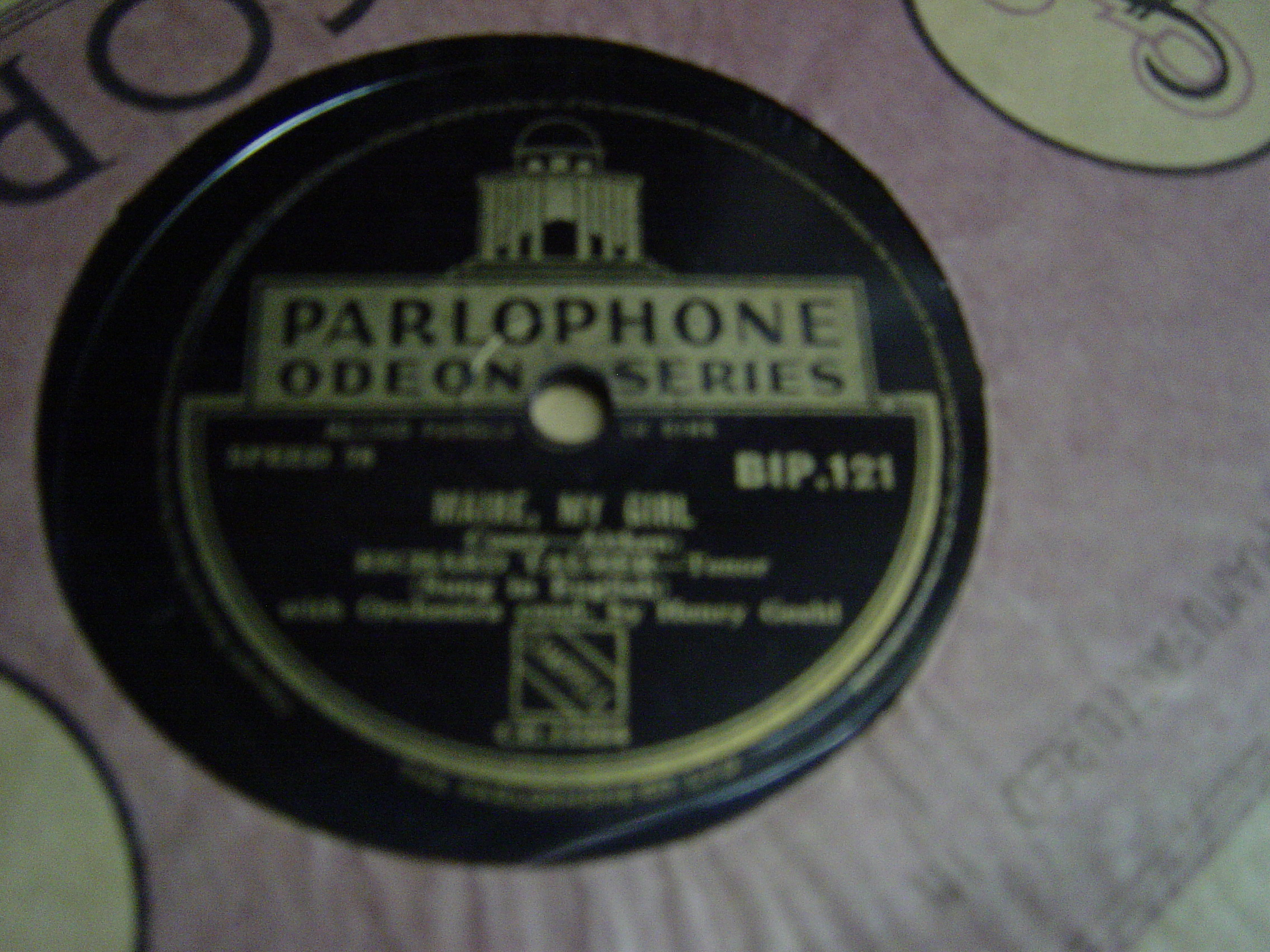 Richard Tauber - Marie my Girl - Parlophone BIP 121