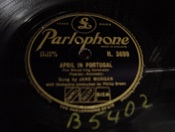 Jane Morgan - If I were a Bell - Parlophone R. 3699