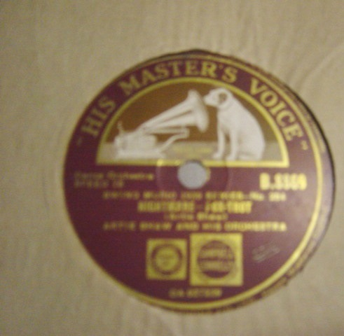 Artie Shaw - Indian Love Call - HMV B.8869