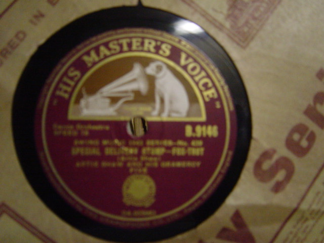 Artie Shaw - Special Delivery Stomp - HMV B.9146