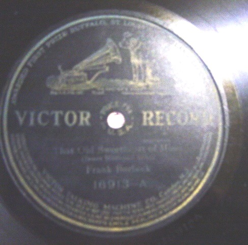 Frank Burbeck - Recitation - Victor Records 16913 USA