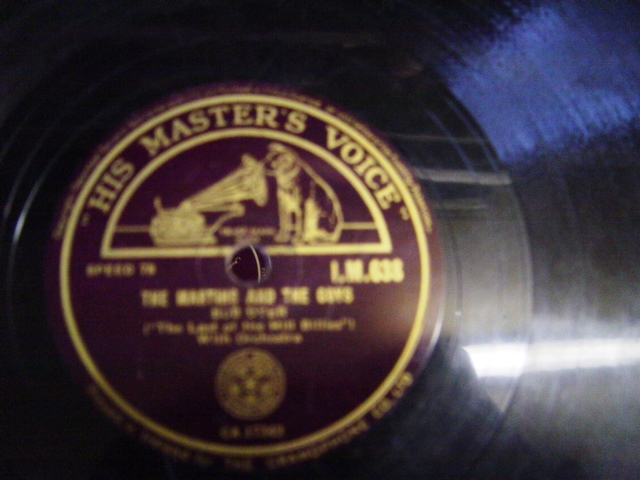 Bud Dyer - The Martins & The Coy's - HMV IM 638 Irish