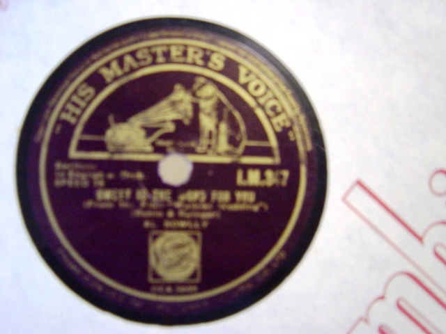 Al Bowlly - Blue Hawaii - HMV IM 347 Irish