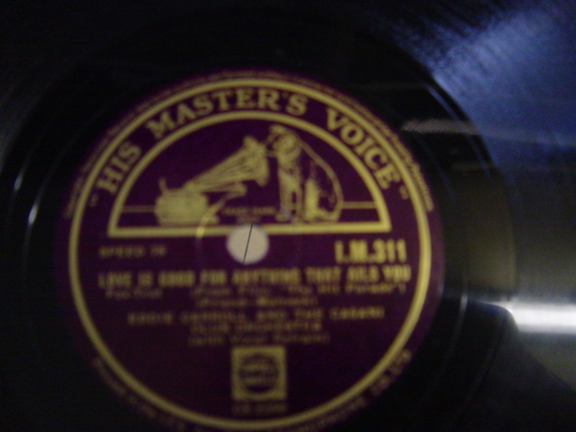 Eddie Carroll Casani Club - Was it Rain - HMV IM 311 Irish