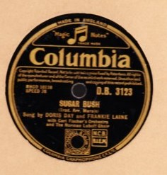Doris Day - Sugar Bush - Columbia D.B. 3123