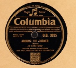 Jo Stafford - Dont worry bout me - Columbia D.B. 3025