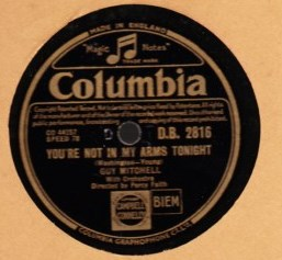 Guy Mitchell - The Roving Kind - Columbia DB. 2816