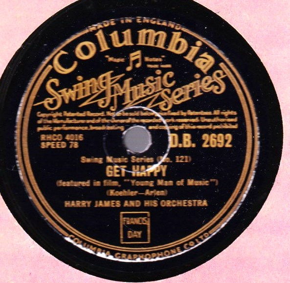 Harry James - Get Happy - Columbia DB.2692