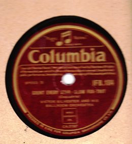 Victor Silvester - Count every Star - Columbia IFB 184 Irish