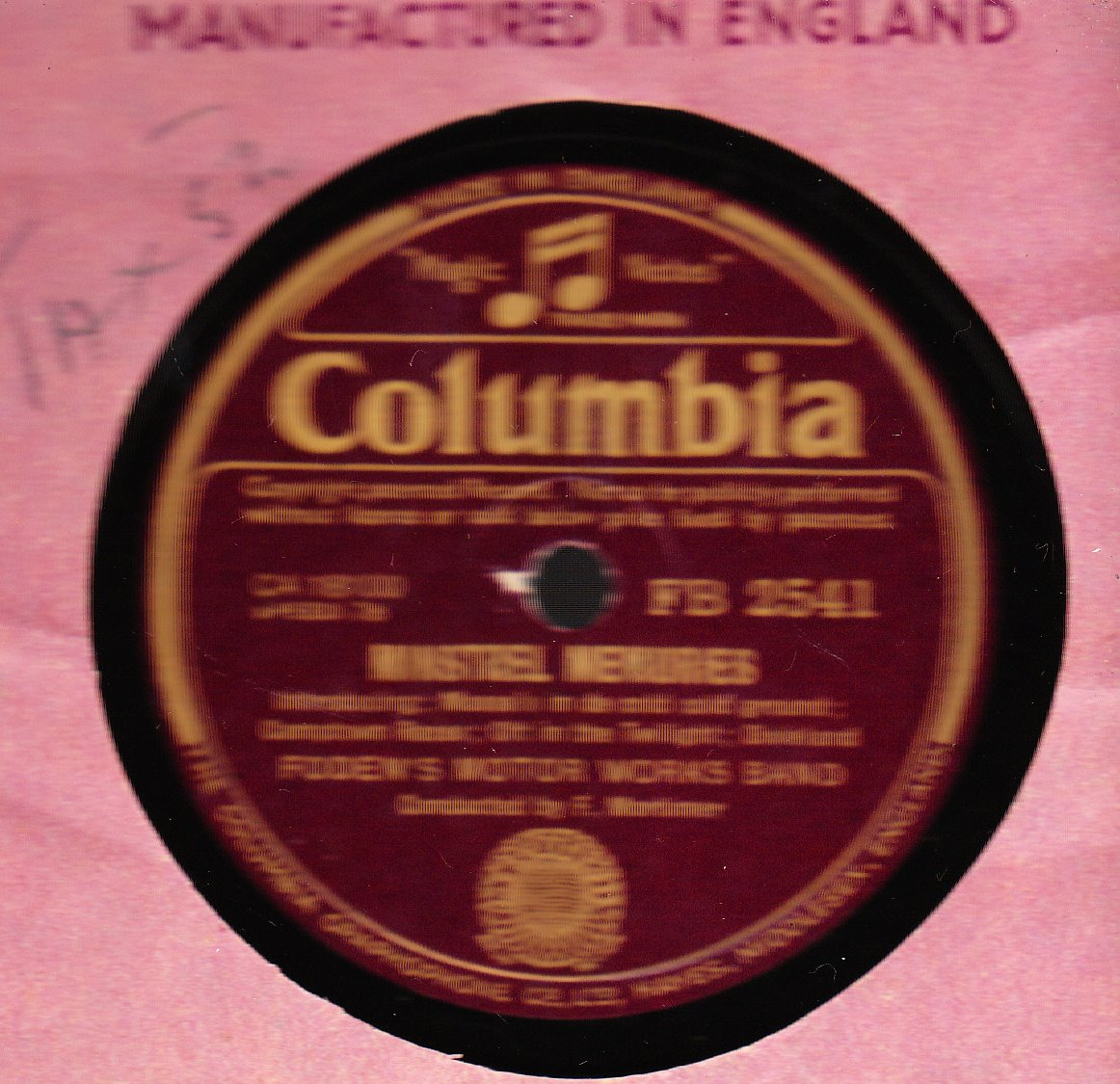 Foden's Motor Works Band - John Peel - Columbia FB 2541