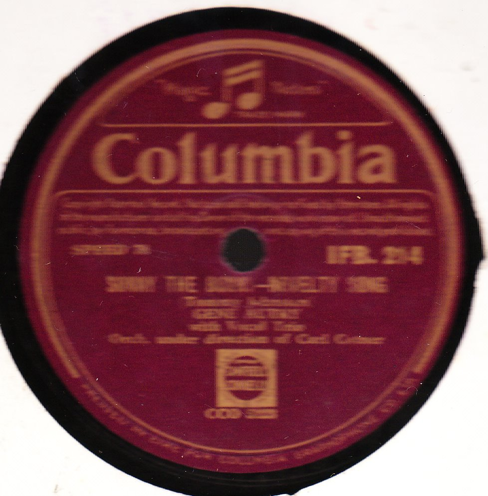 Gene Autry - Sonny the Bunny - Columbia IFB. 214 Irish