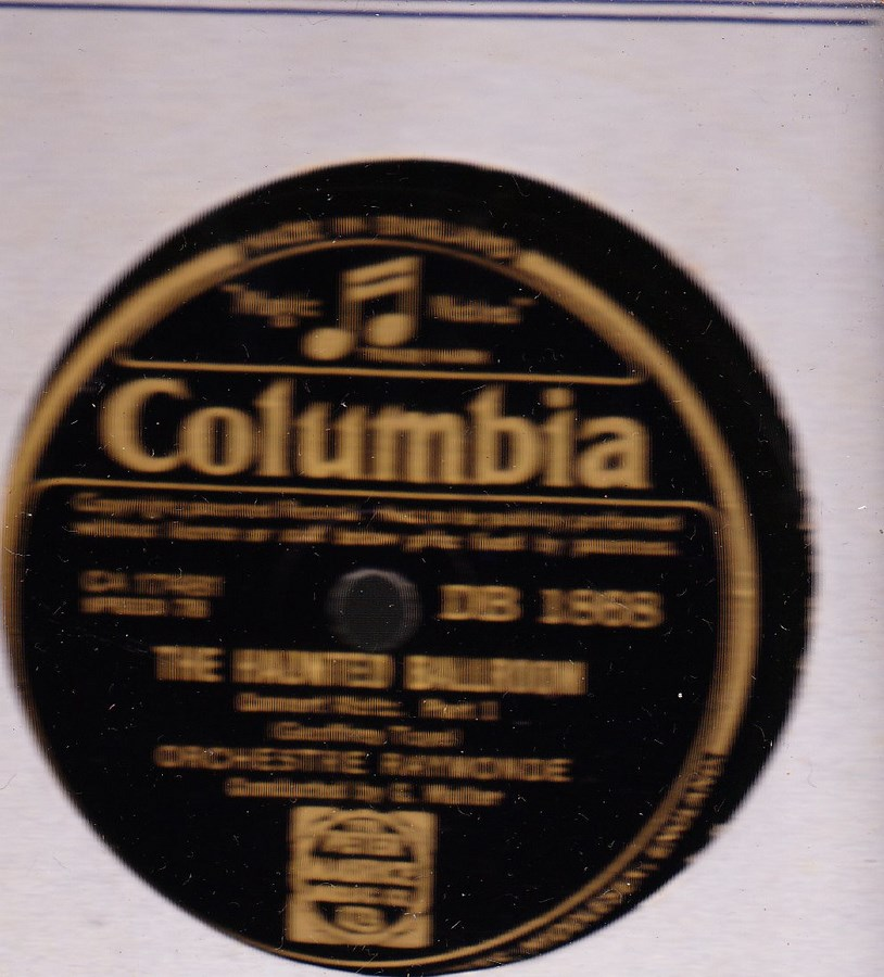 Orchestre Raymonde - The Haunted Ballroom - Columbia DB. 1868