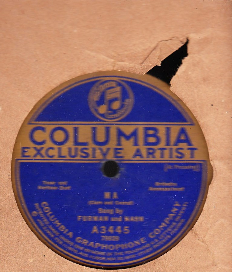 Furman & Nash - Ma - Columbia A 3445