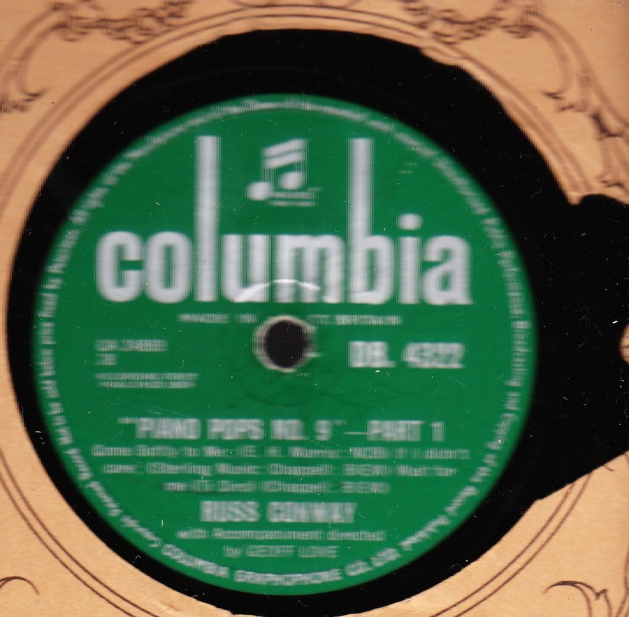 Russ Conway - Piano Pops No. 9 Columbia DB 4322
