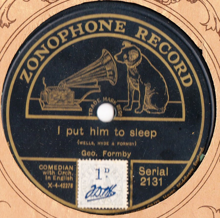 George Formby - I put him to sleep - Zonophone 2131
