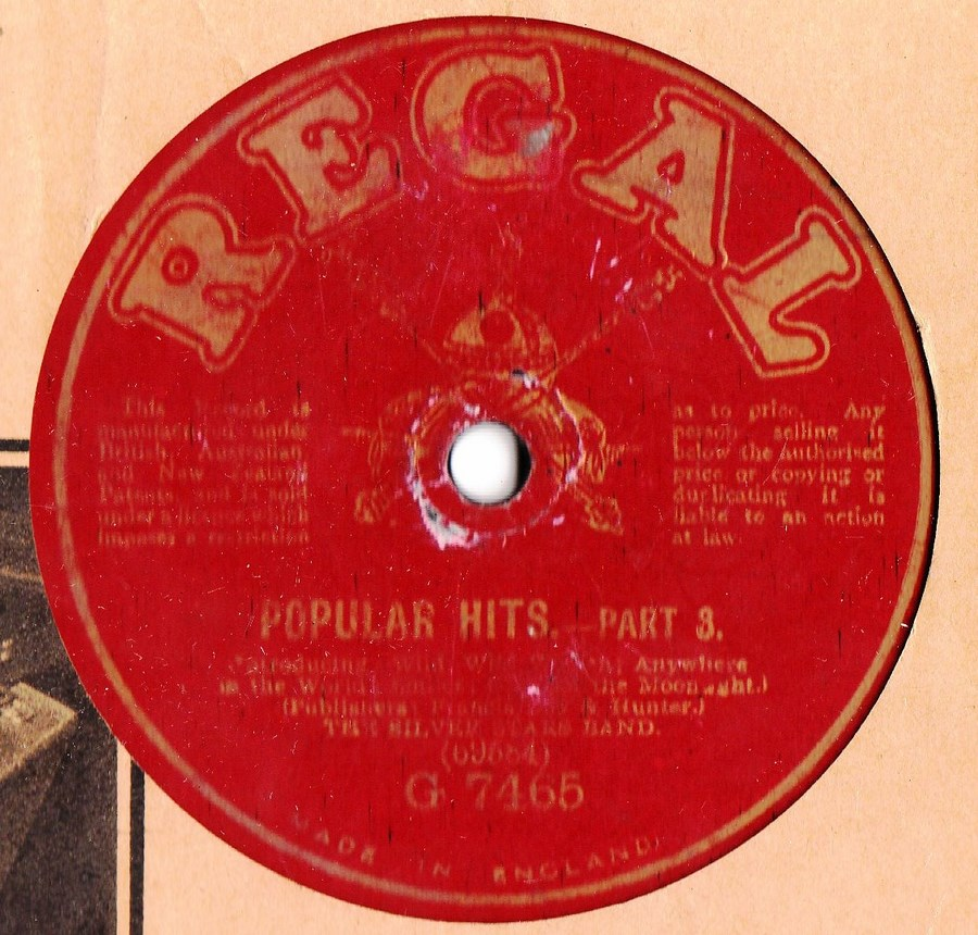 Silver Stars Band - Popular Hits Pt. 3 & 4 - Regal G.7465