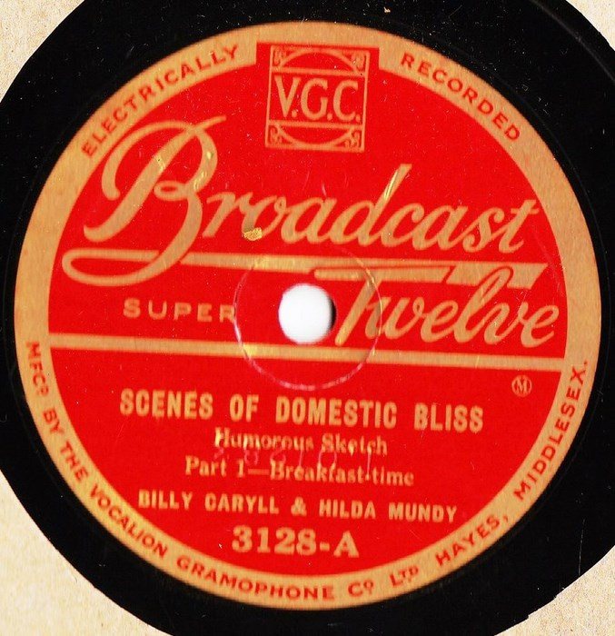 Billy Caryll & Hilda Mundy - Domestic Bliss - Broadcast Twelve