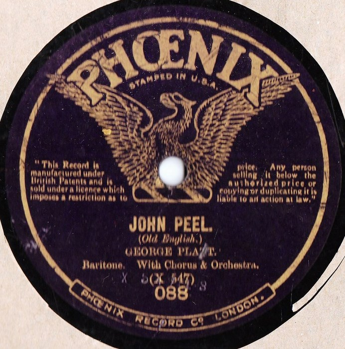 George Platt - John Peel - Phoenix Records 088