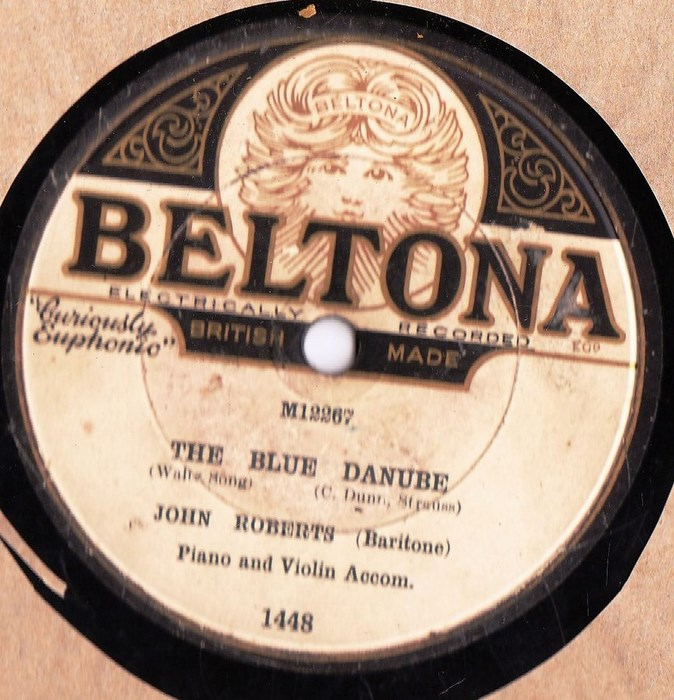 John Roberts - The Blue Danube - Beltona 1448