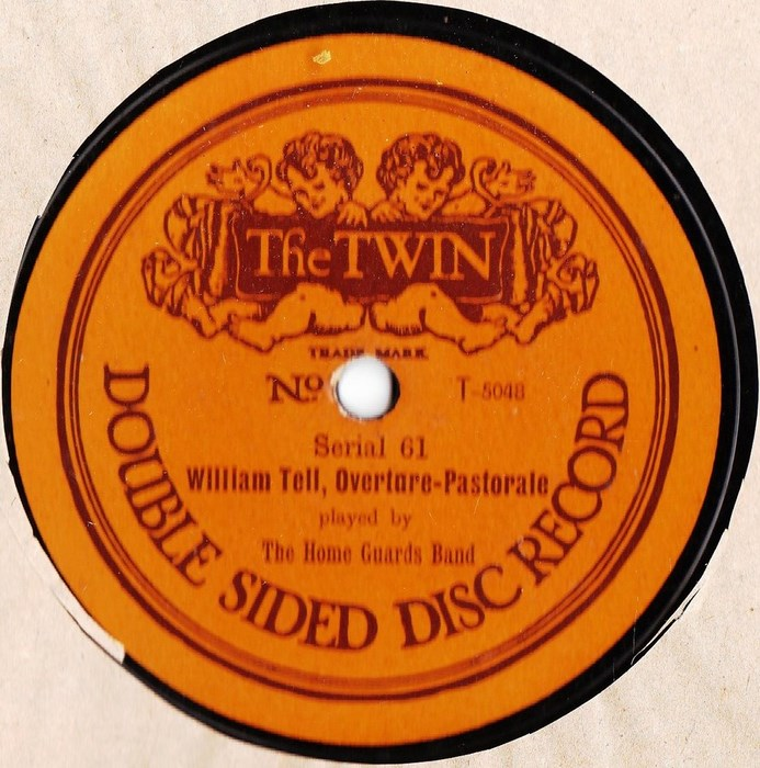 The Home Guards Band - William Tell Overture - The Twin 61