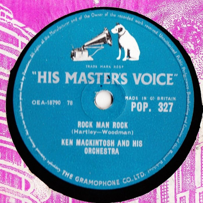 Ken Mackintosh - Rock Man Rock - HMV POP.327