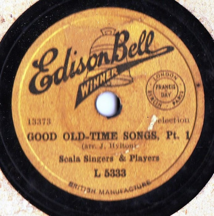 Scala Singers & Players - Good old time Songs - Edison Bell