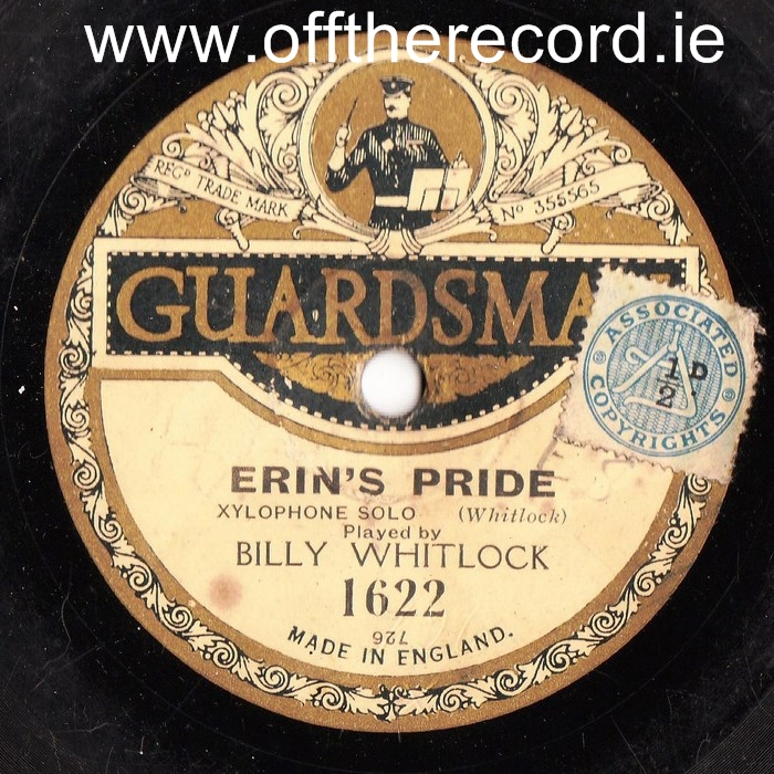 Bill Whitlock Xylophone - Erins Pride - Guardsman 1622