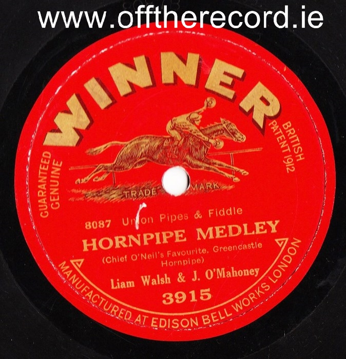Liam Walsh & J O'Mahoney - Reels & Hornpipes - Winner 3915