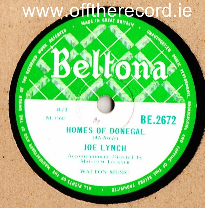 Joe Lynch - Homes of Donegal - Beltona 2672