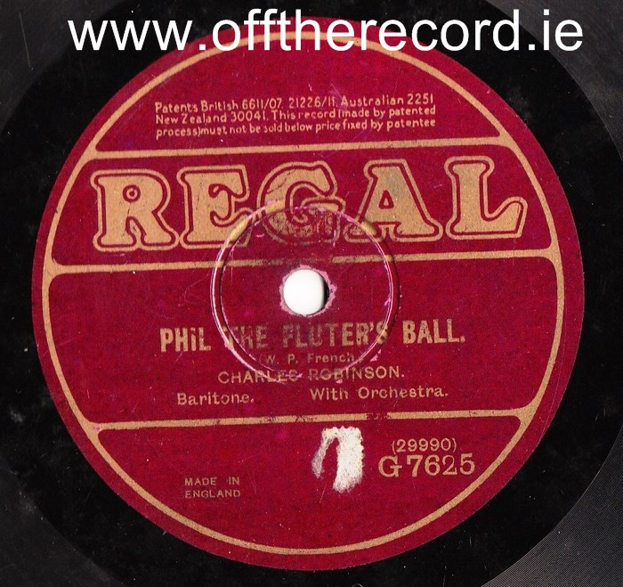Charles Robinson - Tipperary Christening - Regal G.7625