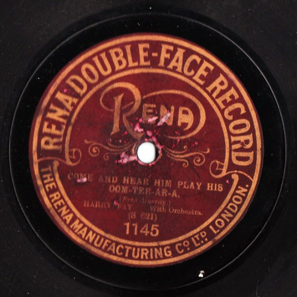 Harry Fay - Come and hear him play - Rena Label 1145