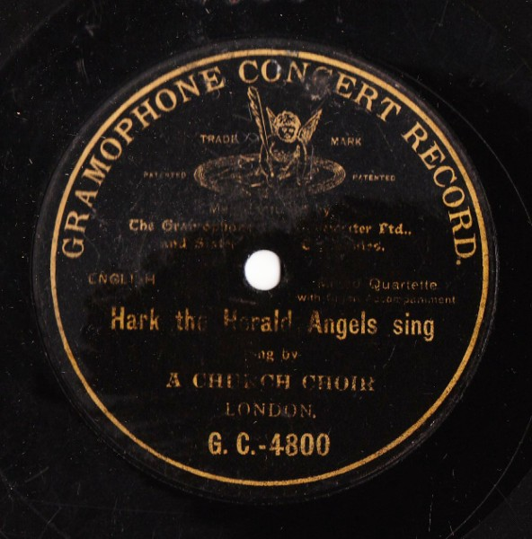 Church Choir - Hark The Herald Angels - Gramophone Concert 4800