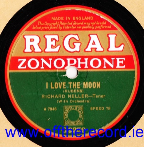 Richard Neller - I love the Moon - Regal G.9259