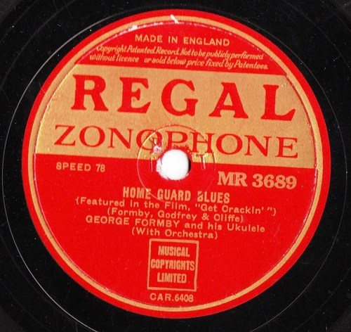 George Formby - Home Guard Blues - Regal MR. 3689