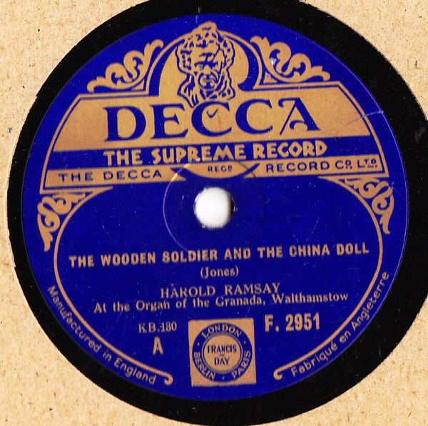 Harold Ramsay - A wooden soldier China Doll - Decca F.2951