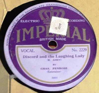 Chas Penrose - Yodeling Laughter & Love - Imperial 2229